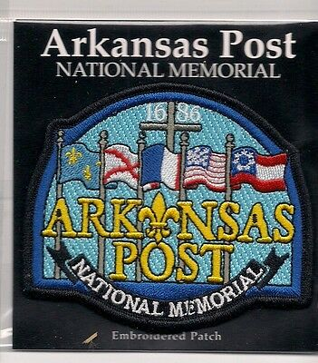 Souvenir Patch - Arkansas Post National Memorial