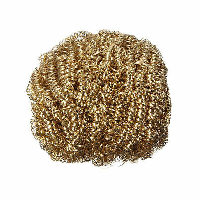 Welding Soldering Solder Iron Tip Cleaner Cleaning Wire Sponge Ball Golden