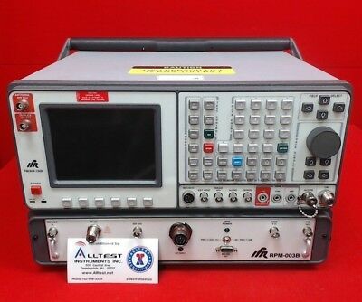 IFR 1600 - RPM-003B FM/AM Communications Service Monitor FM/AM Communications Se