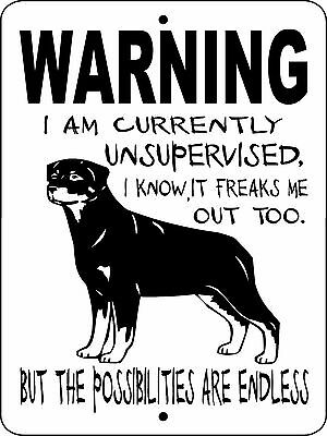 ROTTWEILER DOG SIGN,NO TRESPASSING,DOG SIGNS,Guard Dog,Security,WUSROTT