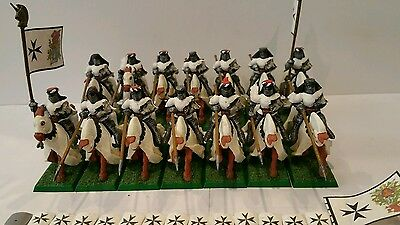 14 x Empire Knights well painted plastic models Age of sigmar OOP