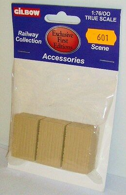 Gilbow EFE 99601 - 1:76 OO Gauge Accessories Large Wooden Crates