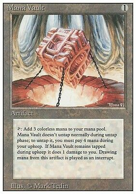 FORZIERE DEL MANA - MANA VAULT Magic 3ED Mint