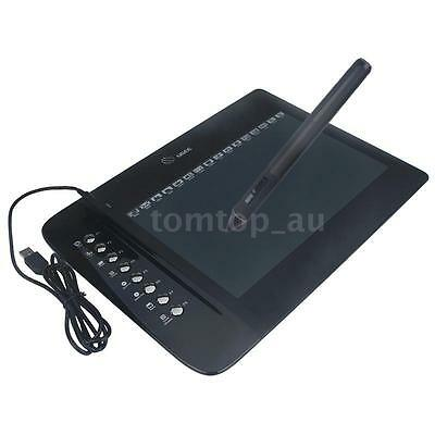 "UGEE 10""x6"" USB Graphics Drawing Tablet Pad Cordless Pen Hotkey For PC Mac N0K3"