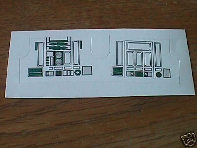 R2-D2  Green  Replacement  STICKER  Perfect!!!!