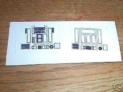 R2-D2  Purple  Replacement  STICKER  Perfect!!!!