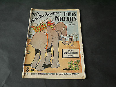 L. Forton Les Pieds Nickeles N°5 Encore D'extraordinaires Equipees 64 Pages