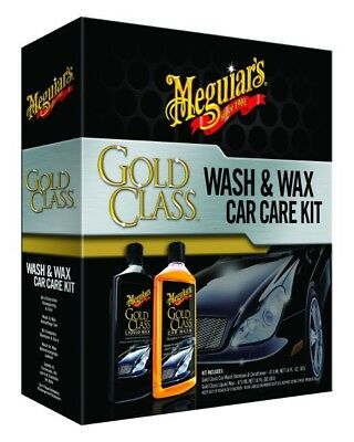 Meguiar´s Gold Class Wash & Wax Car Care Kit – G9966 Autoshampoo und Wachs Set