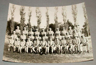 WW11 Canadian Military African Corps Unit Photo