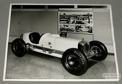 1950's Indianapolis 500 Official Photo Unknown Car