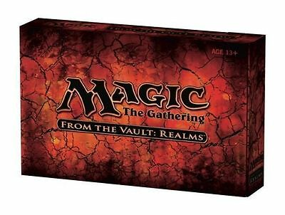 FROM THE VAULT: REALMS Lands Mtg Magic 15 FOIL CARDS BOX SET FTV