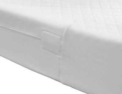 Fully Enclosed Mattress Protector Cover Luxury Quilted Extra Deep Zip Closure