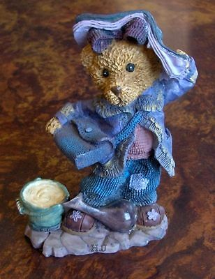 Teddy Figurine Super Cute And Very Detailed-Country Col