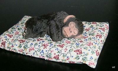 "Sandicast Wild Snoozer ""chimp"" The Chimpanzee - Made In Usa- Signed"