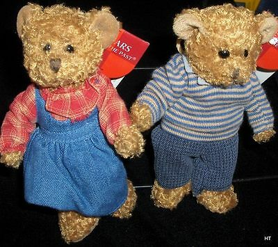 "Russ Berrie ""bears From The Past""  Forester Only 5 1/2 Inches Tall-"
