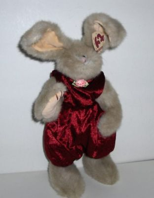"Ty Collectible Bunny ""sidney"" 34Cm- Jointed-Retired Mwt"