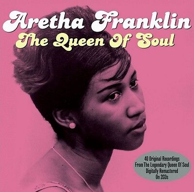 Aretha Franklin - The Queen Of Soul - 40 Original Recordings (New Sealed 2Cd)
