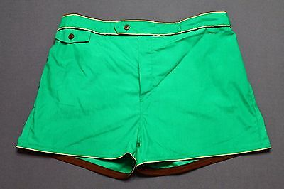 XL * NOS vtg 70s/80s short shorts swim trunks