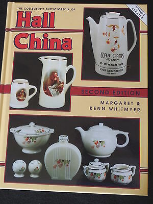 Antique Collector's Encyclopedia Of Hall China Pottery Price Guide Book Ex Cond