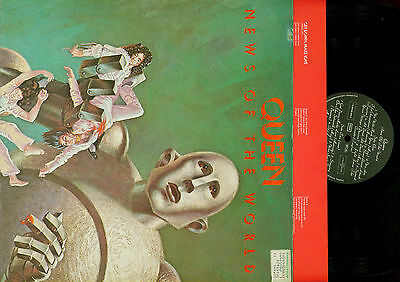 Lp--Queen News Of The World // Foc// Ois // Germany