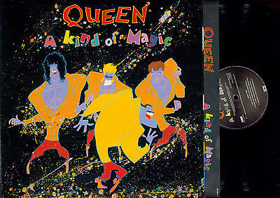 Lp--Queen A Kind Of Magic // Ois // Foc