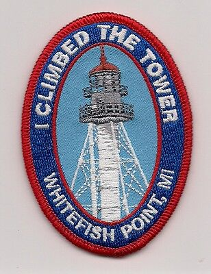 Souvenir Patch- Whitefish Point Lighthouse, Whitefish Point Michigan