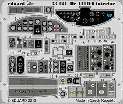 EDUARD 33121 Interior S.A. für Revell® Kit He111H-6 in 1:32