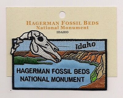 Souvenir Patch - Hagerman Fossil Beds National Monument, Idaho