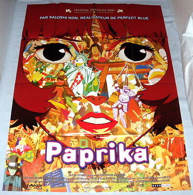 PAPRiKA パプリカ a Satoshi Kon Japan Manga Animation LARGE French POSTER