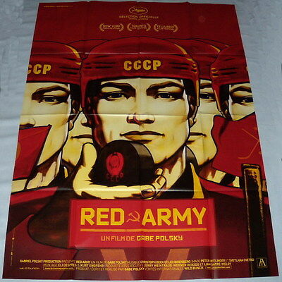 RED ARMY Hockey USSR Cold War Russia Communism Documentary LARGE French POSTER