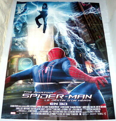 THE AMAZiNG SPiDER-MAN 2 : Rise of Electro Marvel LARGE French POSTER