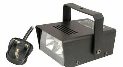 QTX Plug In Strobe Light 20W High Intensity Bright Xenon Adjustable Flashing