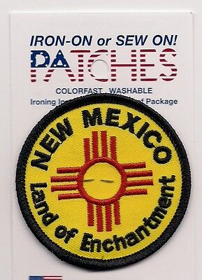 Souvenir Patch - State Of New Mexico - Land Of Enchantment