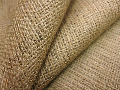 "7.5 oz 1 Metre of 72/"" wide Hessian for upholstery and Crafts."