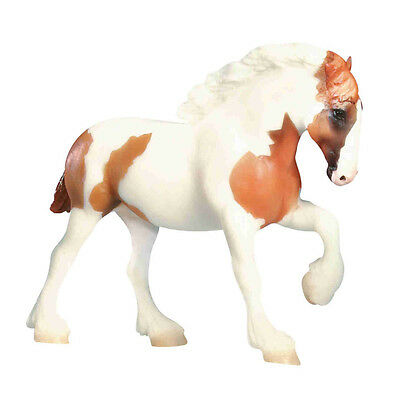 Breyer 1628 Chestnut Pinto Spotted Draft Horse Paddock Pal Scale Toy Model - NIP