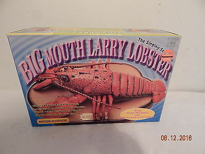 Big mouth larry the lobster New in the Box