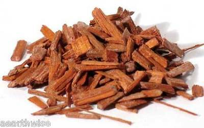 RED SANDALWOOD CHIPS *40g Wicca Witch Pagan HEALING PURIFICATION OFFERING GODS