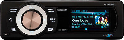 Aquatics AV Factory Harley Replacement Radio MP3 Bluetooth Stereo Sound System