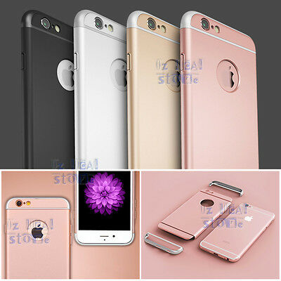 Luxury Ultra-thin Shockproof Armor Back Case Cover for Apple iPhone 5 SE 6S Plus