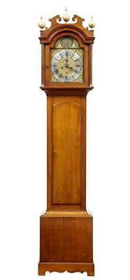 18Th Century Oak Longcase Clock By James Draycot Wells