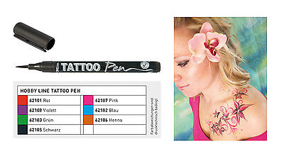 Tattoo Stift, Tattoostift, Tattoo Stifte, Tattoostifte, Henna, Tattoofarbe