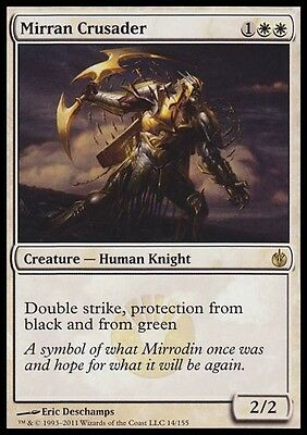 CROCIATO DI MIRRODIN - MIRRAN CRUSADER Magic MBS Mint