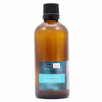 Pear & Freesia Fragrance Oil - Cosmetic grade can be used in soaps, candles etc.