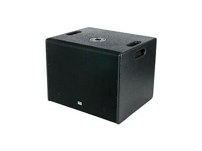 DAP Audio DRX-15BA Aktiver Subwoofer Bassbox, 15 Zoll 600 W