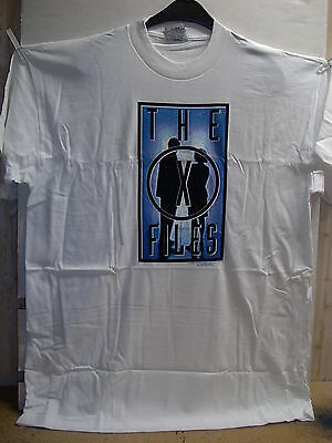Vintage T-Shirt: X-Files - Scully & Mulder Shadows (XL) (USA, 1995)