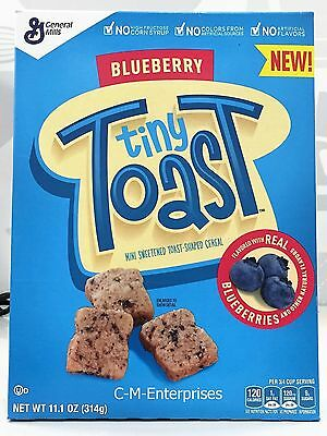 Blueberry Tiny Toast Cereal 11.1 oz General Mills