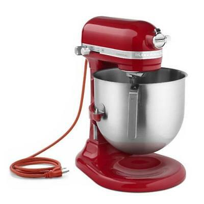 KitchenAid Commercial - KSM8990ER - 8 qt Empire Red Commercial Stand Mixer