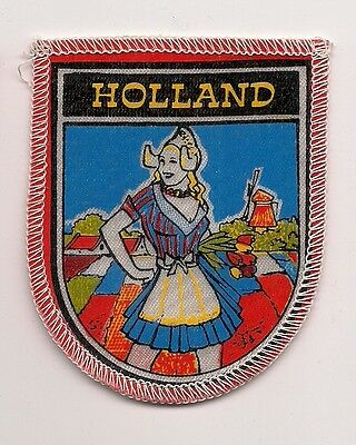 Souvenir Travel Patch - Country Of Holland