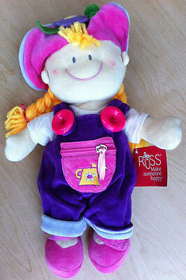 RUSS Berrie New Baby Girl Learning/Activity Doll Soft Plush Toy Mary Jo Gardner