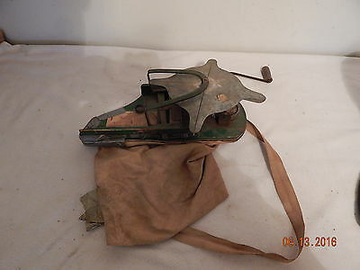 Little Giant seeder thrower vintage 1956